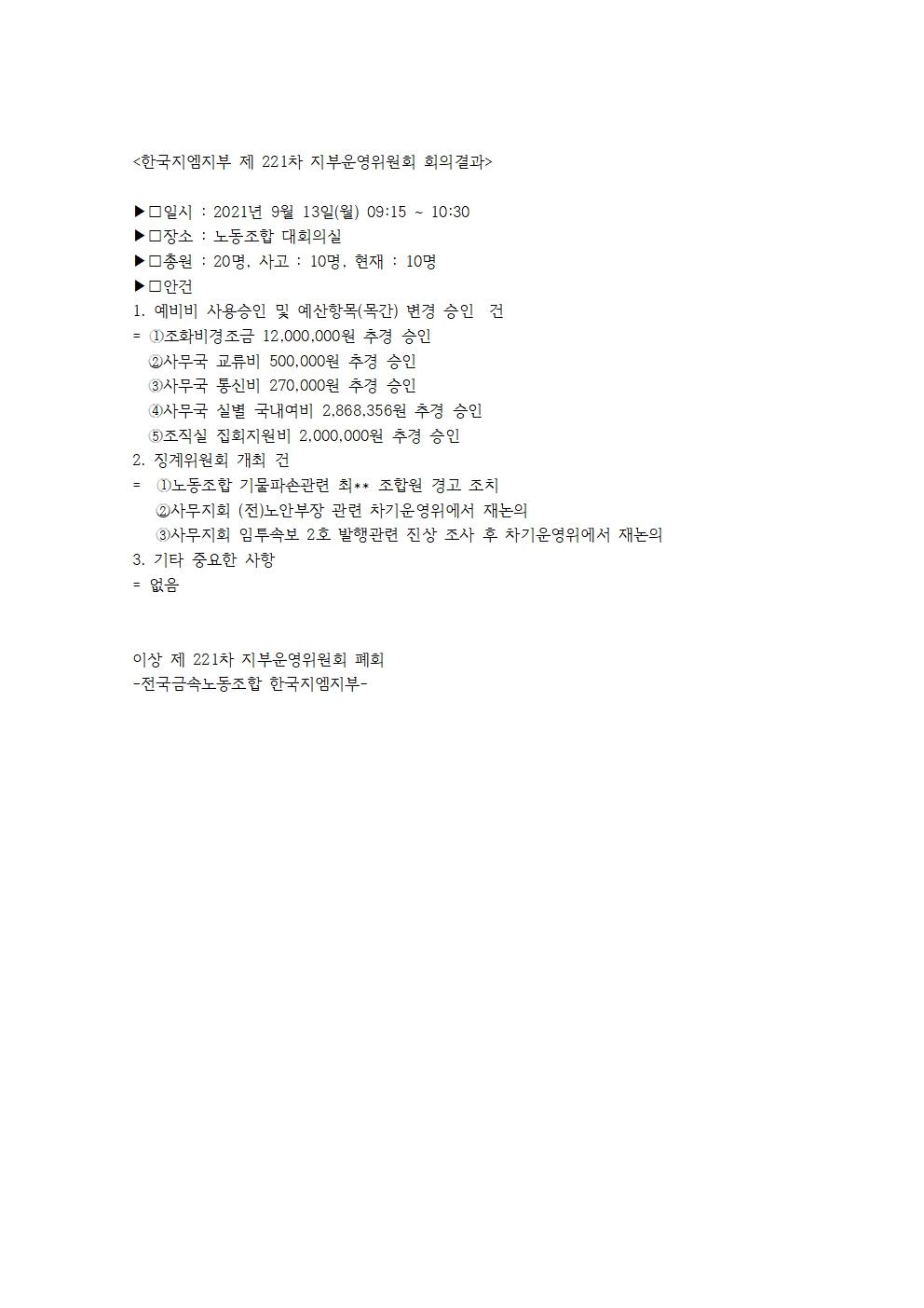 한국지엠지부 제 221차 지부운영위원회 회의결과001.jpg